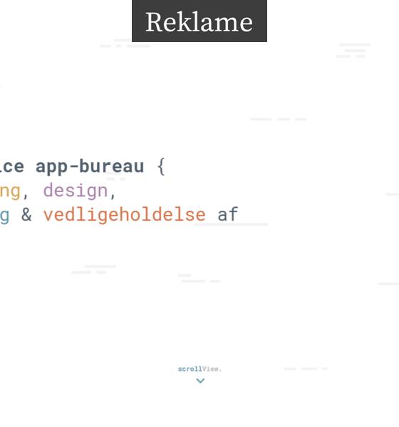 App udvikler